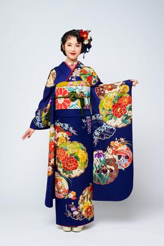 No.265 正絹 京友禅