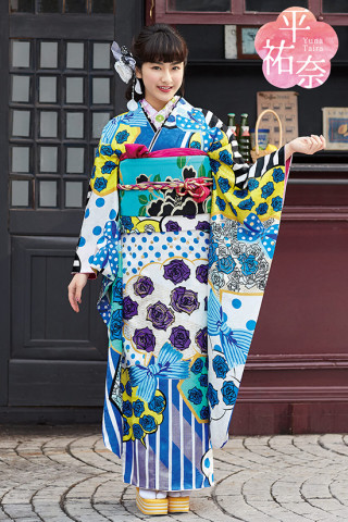 平裕奈 Furisode Cpllection 「MY FAVORITES」 TY23