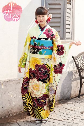 平裕奈 Furisode Cpllection 「MY FAVORITES」 TY26