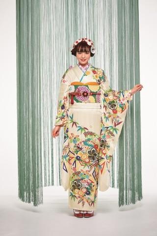 本きもの松葉オリジナル振袖【和振】HM20-011