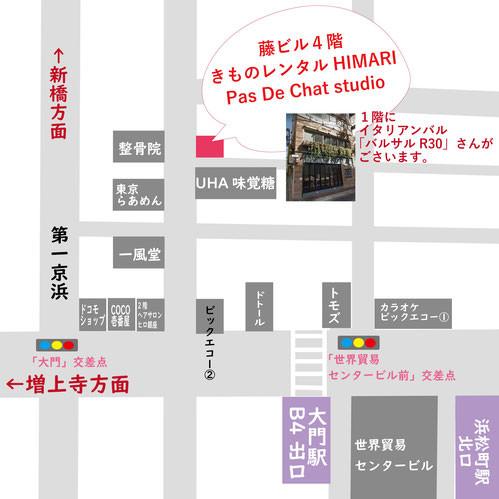 浜松町地図