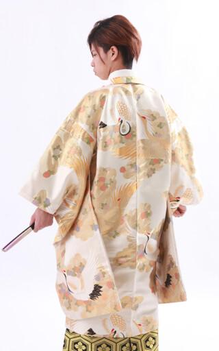 男子成人式 着物地オリジナル羽織袴フルセットの衣装画像3