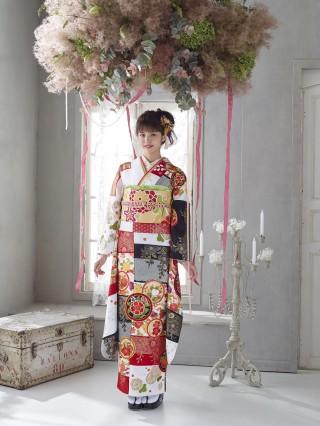 第69回京友禅競技大会 京都府知事賞受賞柄の衣装画像2