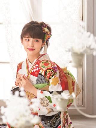 第69回京友禅競技大会 京都府知事賞受賞柄の衣装画像3