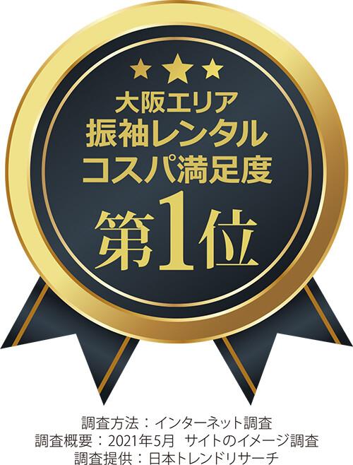 【A6 2.大阪エリア 振袖レンタル コスパ満足度】