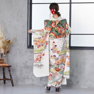 白 花笠松に松竹梅 (R484)の衣装画像2