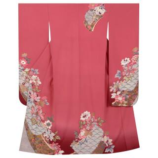 珊瑚色 変り牡丹に誰が袖 (R721)の衣装画像3