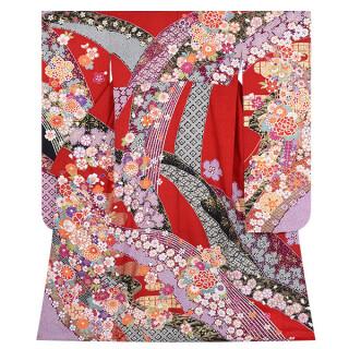 赤 花尽くし (R1701)の衣装画像3