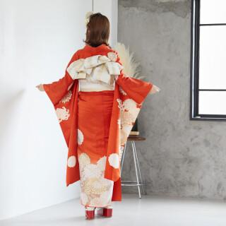 朱色 絢爛菊華 (R876)の衣装画像2