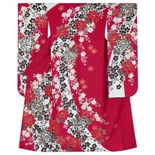 赤 豪華金彩 牡丹桜 (R1358)の衣装画像3