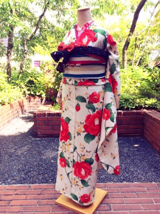 【きもの道楽】乙女椿の衣装画像1