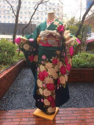 【モリハナエ】バラ 蝶