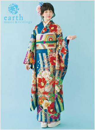 earth music & ecology振袖 EM-101