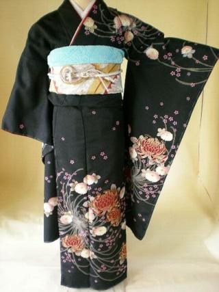 fp7501 黒糸目菊  ¥39,900