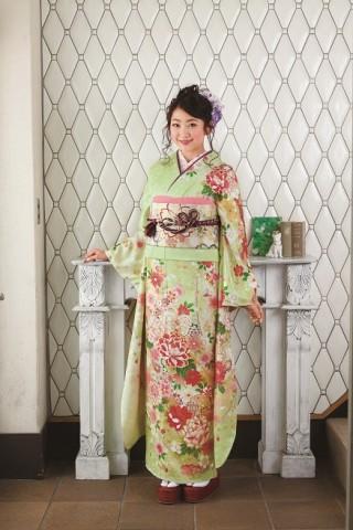 京友禅振袖の衣装画像1