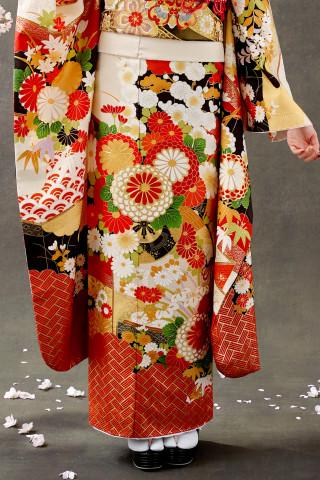 【新作振袖・オレンジ】OR-2024の衣装画像3