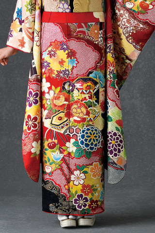 【新作振袖・赤】OR-2040の衣装画像3