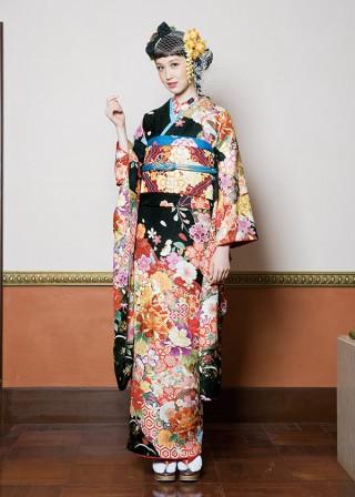 J-ROSSO 黒花亀甲の衣装画像1