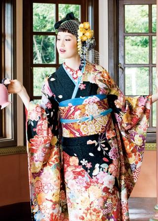 J-ROSSO 黒花亀甲の衣装画像2