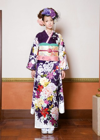 J-ROSSO 紫百合牡丹の衣装画像1