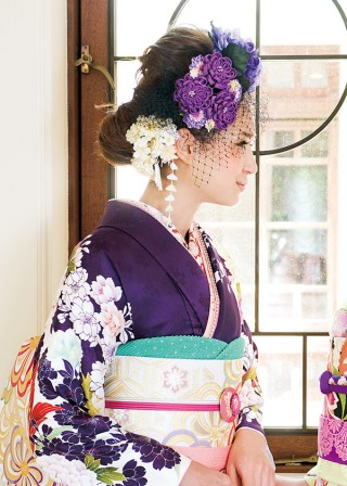 J-ROSSO 紫百合牡丹の衣装画像2