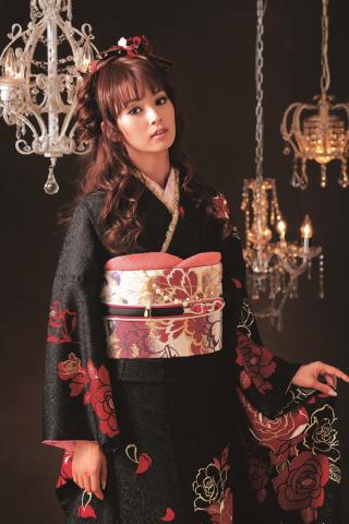 モデルノ 黒×バラの衣装画像2