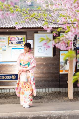 【ピンク】古典の衣装画像2