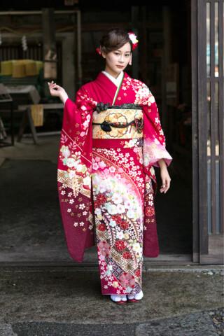 【赤】古典の衣装画像2
