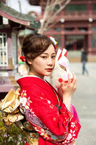 【赤】古典の衣装画像3