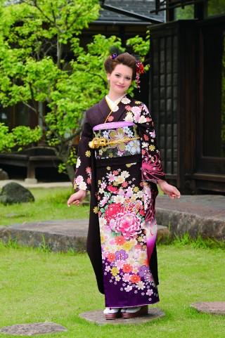 濃茶古典の衣装画像1