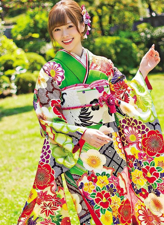 乃木坂46 白石麻衣プロデュース振袖