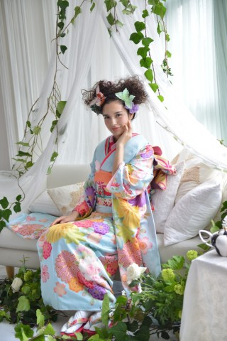 No.696 大島優子 天晴蝶の衣装画像1