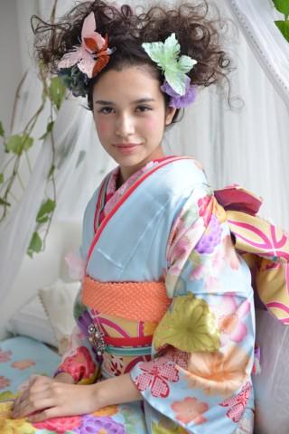No.696 大島優子 天晴蝶の衣装画像2