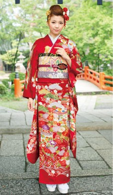 HIBIKI  001 古典貝桶紋様 松竹梅の衣装画像1