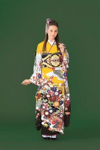 2017-2018 Furisode collection B-08