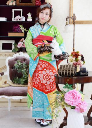 昭和時代・振袖の衣装画像1