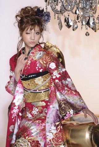 No1115KATSURA YUMI 振袖の衣装画像2
