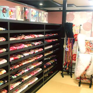 振袖レンタル&撮影 ユースマイル&アンジュエール西神戸店の店舗画像5
