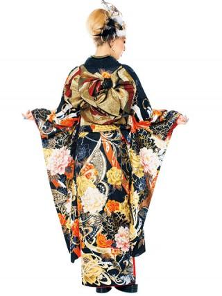 【新作】着物ageha 荒木さやかちゃん着用 ゴージャスの衣装画像2