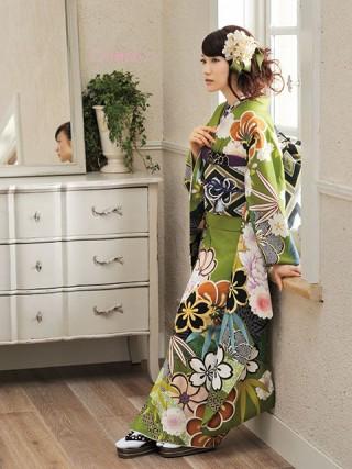 【新作】大島優子ちゃん着用 緑 古典