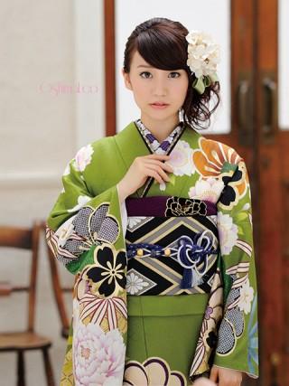 【新作】大島優子ちゃん着用 緑 古典の衣装画像2