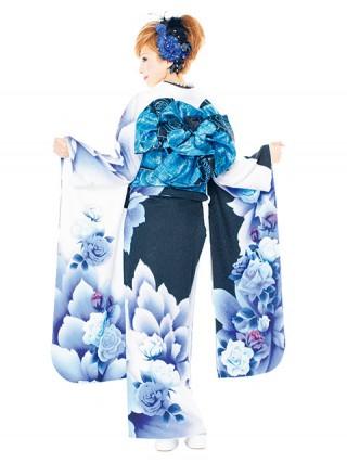 【新作】着物ageha 愛沢えみりちゃん着用 クールの衣装画像2