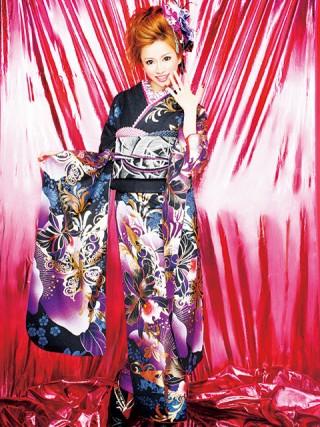 【新作】着物ageha 愛沢えみりちゃん着用 ゴージャスの衣装画像1