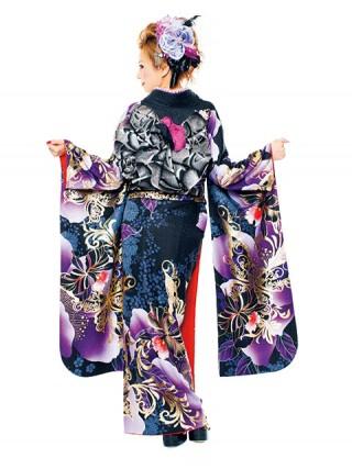 【新作】着物ageha 愛沢えみりちゃん着用 ゴージャスの衣装画像2