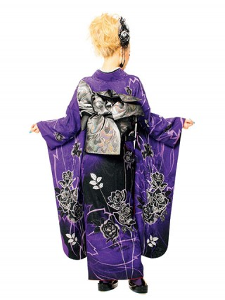 【新作】着物ageha 荒木さやかちゃん着用 クールの衣装画像2