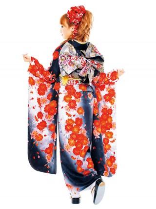 【新作】着物ageha 八鍬里美(さとみん)着用 キュートの衣装画像2