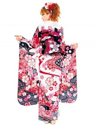 【新作】着物ageha 愛沢えみりちゃん着用 キュートの衣装画像2