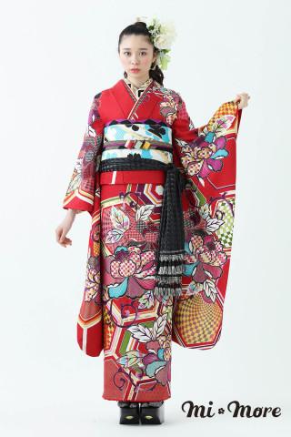 ミモア新作振袖「ふぉとじぇにっく」の衣装画像1