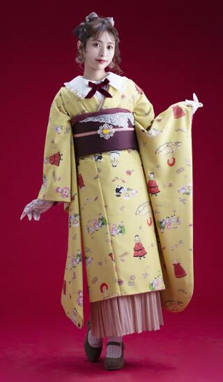 03566からしフランス人形Pの衣装画像1