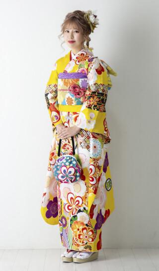 03617 黄 まり梅 プチブランの衣装画像1